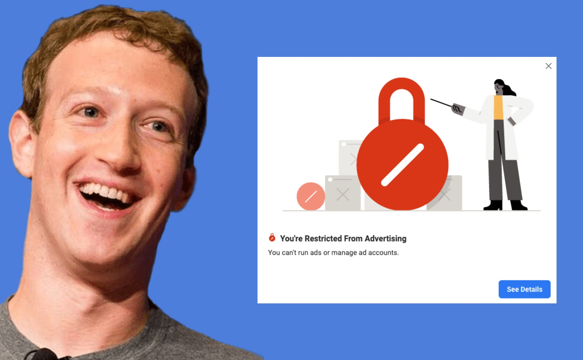 facebook ad account restricted small businesses 2